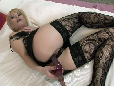 Blonde Mature Performs Oral